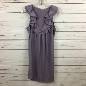 Pins and Needles UO Sleeveless Purple Ruffle Top S
